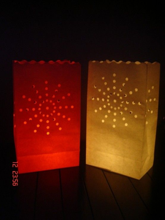 Candlebags Fireworks Zonnetje wit 10st