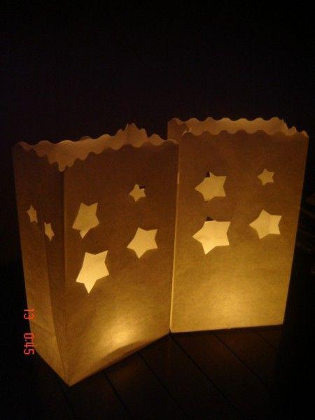Candlebags Stars Sterren 10st