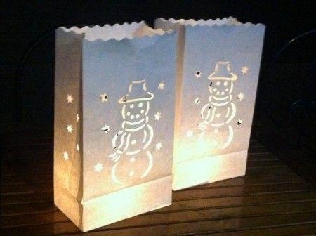 Candlebags Sneeuwpop