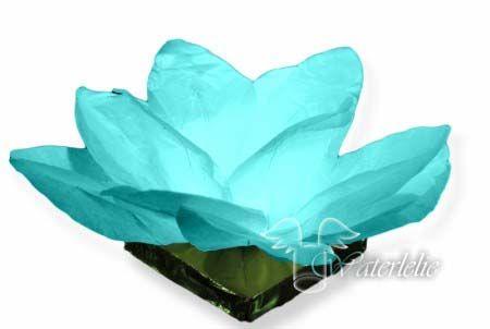 Waterlantaarn Waterlelie Blauw