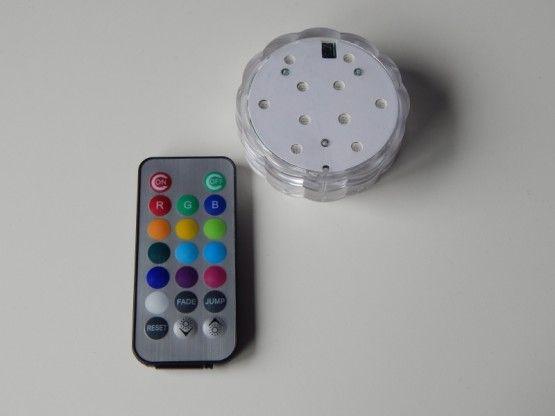 led base 10 met afstandsbediening